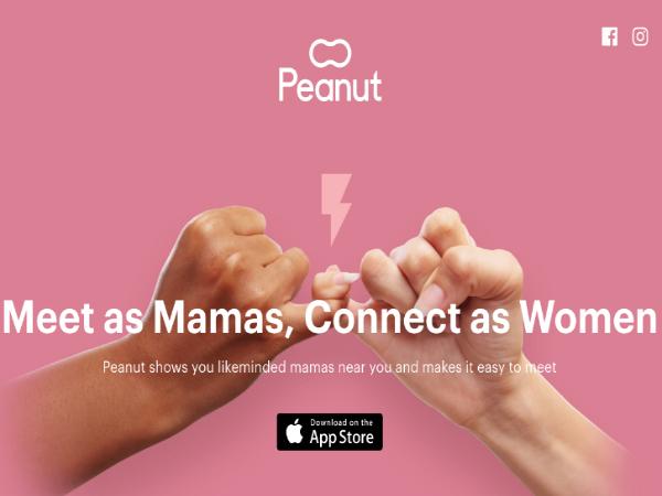 ママ友づくりのためのスマホアプリ「Peanut」
