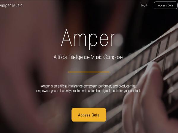 人工知能を活用した自動作曲ソリューション「Amper Music」