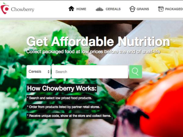 ナイジェリアの余剰食料の割引販売プラットフォーム「Chowberry」