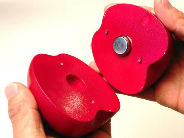 スイスのEmpaが開発したフルーツ型センサー