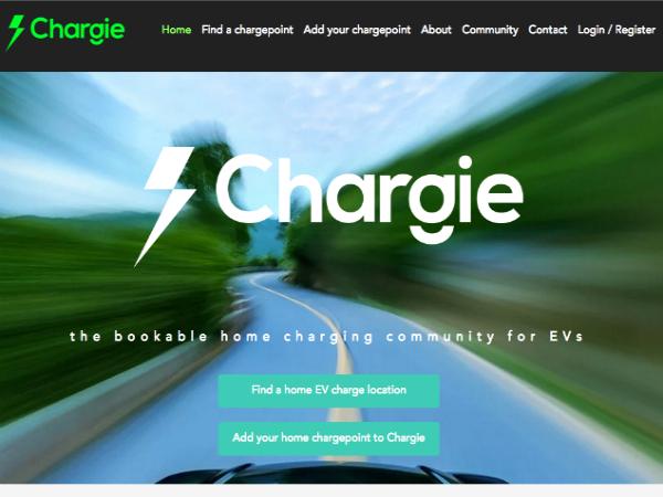 EV用充電スタンドをユーザー間で貸し借りし合う「Chargie」