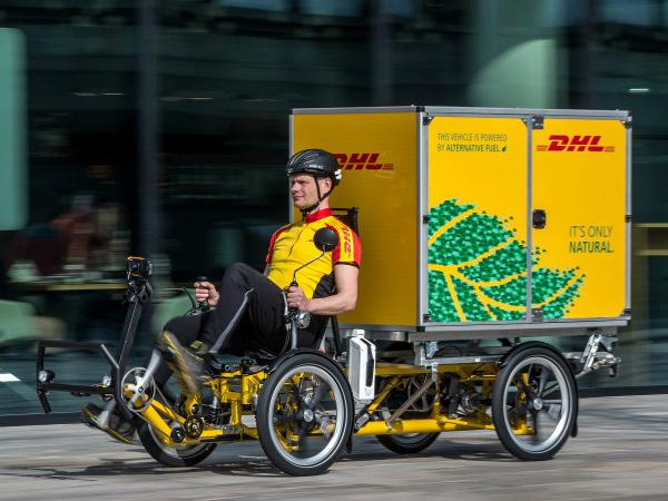DHLの専用カーゴバイク「Cubicycles」