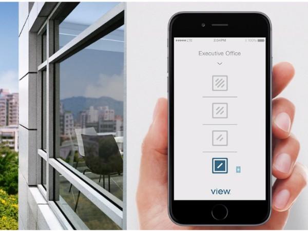 日差しに合わせて窓ガラスの透過率を自動制御するスマートガラス「View Dynamic Glass」