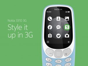 伝説の携帯「Nokia 3310」が3G搭載でリバイバル! 1万円以下で10月中旬発売へ
