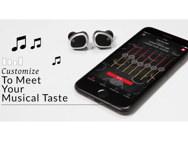 音を自分の手でカスタマイズ!聴力プロファイルを作成できるHi-Fiワイヤレスイヤホン「Swiss Audio」がスゴイ