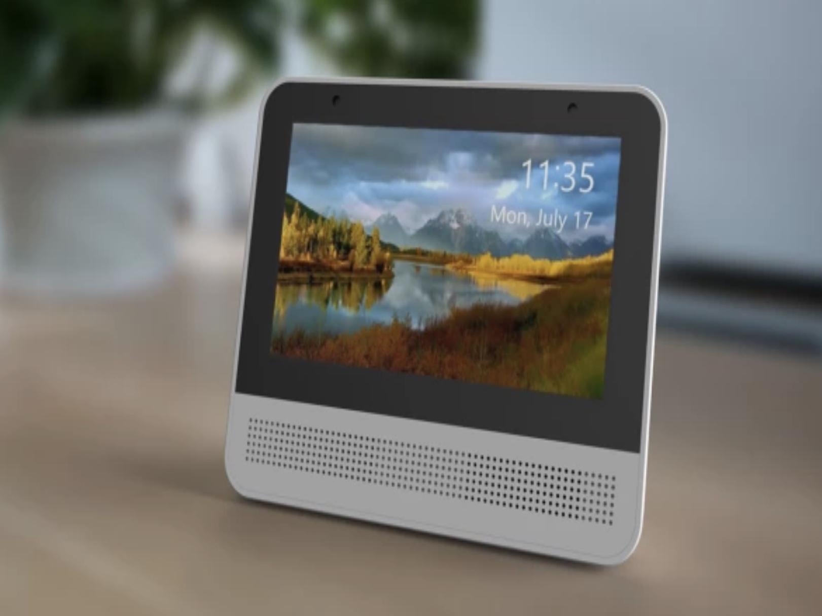 Googleアシスタント搭載のタッチスクリーン端末「Lynky」は1万円台!