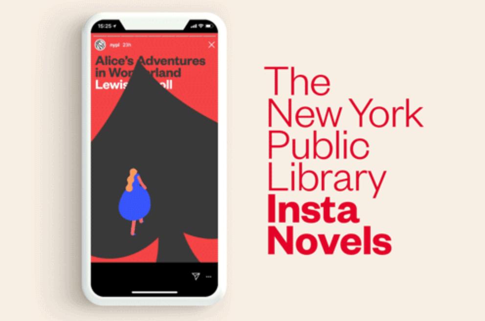 インスタで読書!ニューヨーク公共図書館が書籍をInstagramに公開する無料サービス「Insta Novels」を発表 | Techable(テッカブル)