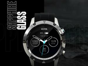 妥協のないスポーツトラッキングシステム!ストレスレベルも表示のスマートウォッチ「VIITA TITAN HRV」