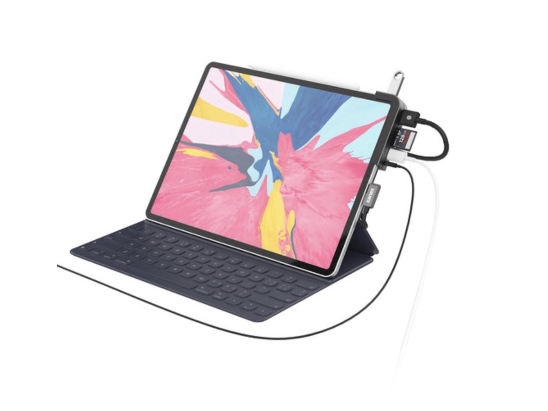 KanexのiPad Pro用ドックステーションは6-in-1! 100ドルで今月発売