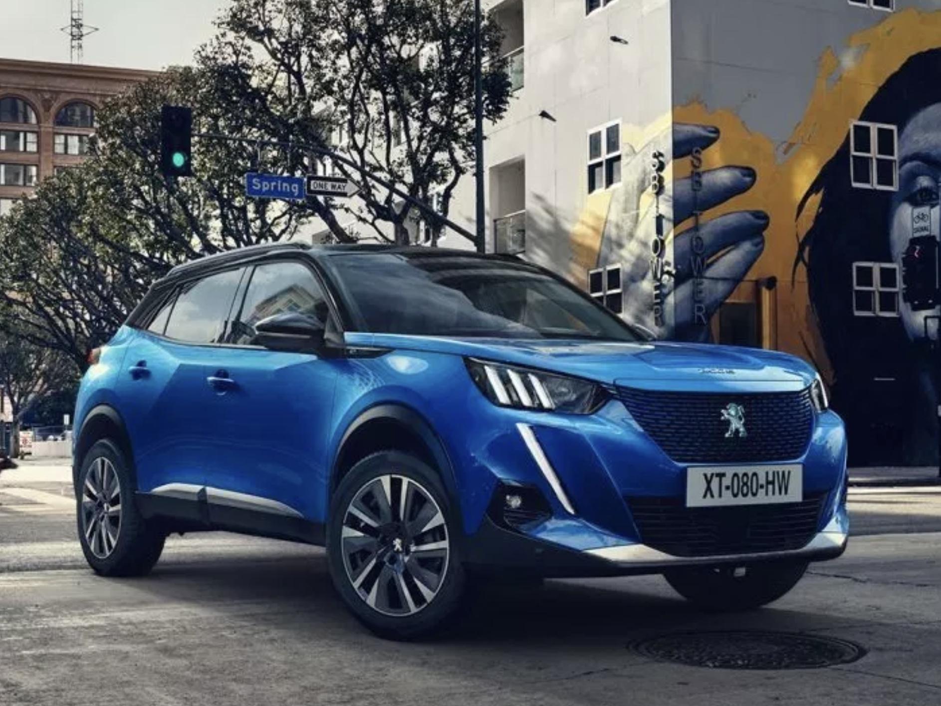 30分でバッテリー80%を充電! プジョー、電気自動車「e2008 」を欧州で発表