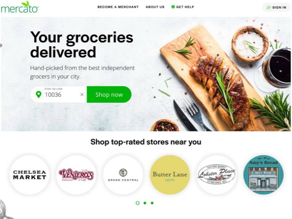 ファーマーズマーケットや独立系食料品店と消費者をつなぐオンラインプラットフォーム「Mercato」