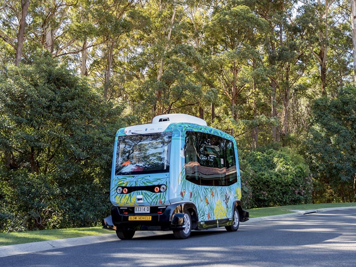 EasyMileの無人自動運転シャトルバスを使ったトライアル、豪州でも開始