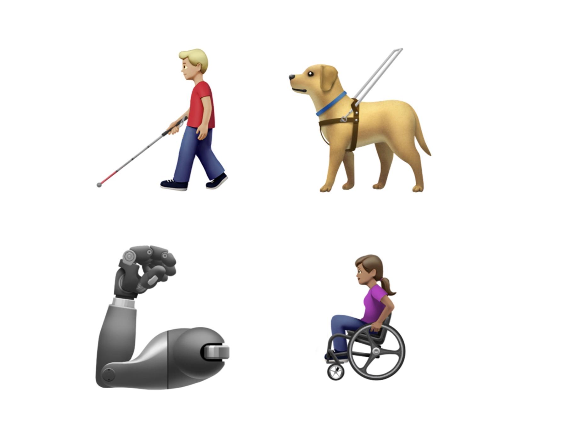 車椅子や補聴器も! 世界絵文字デーでAppleが秋投入の絵文字を発表