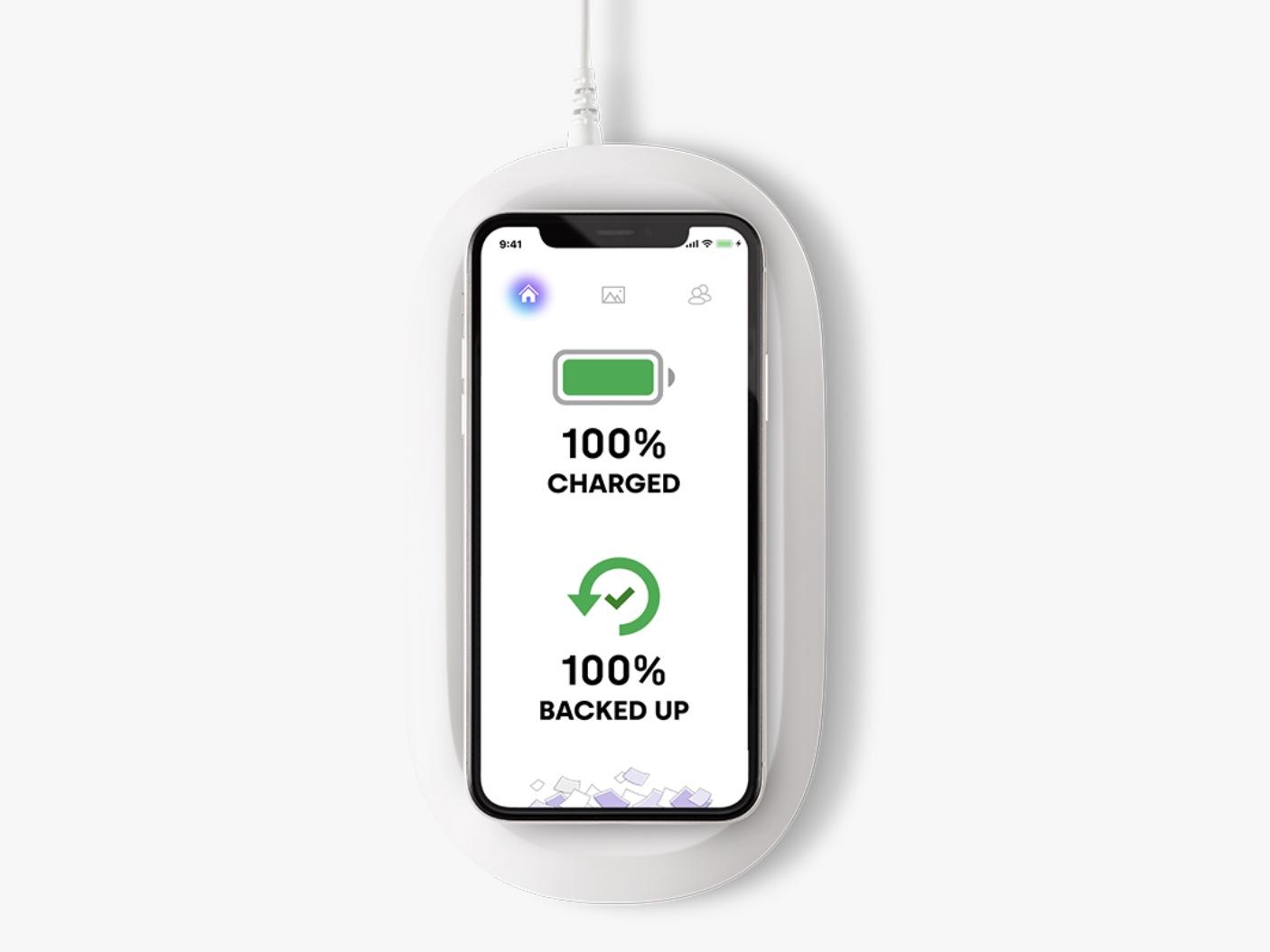 寝ている間に充電とデータバックアップが完了するチャージャー「iXpand」がSanDiskから
