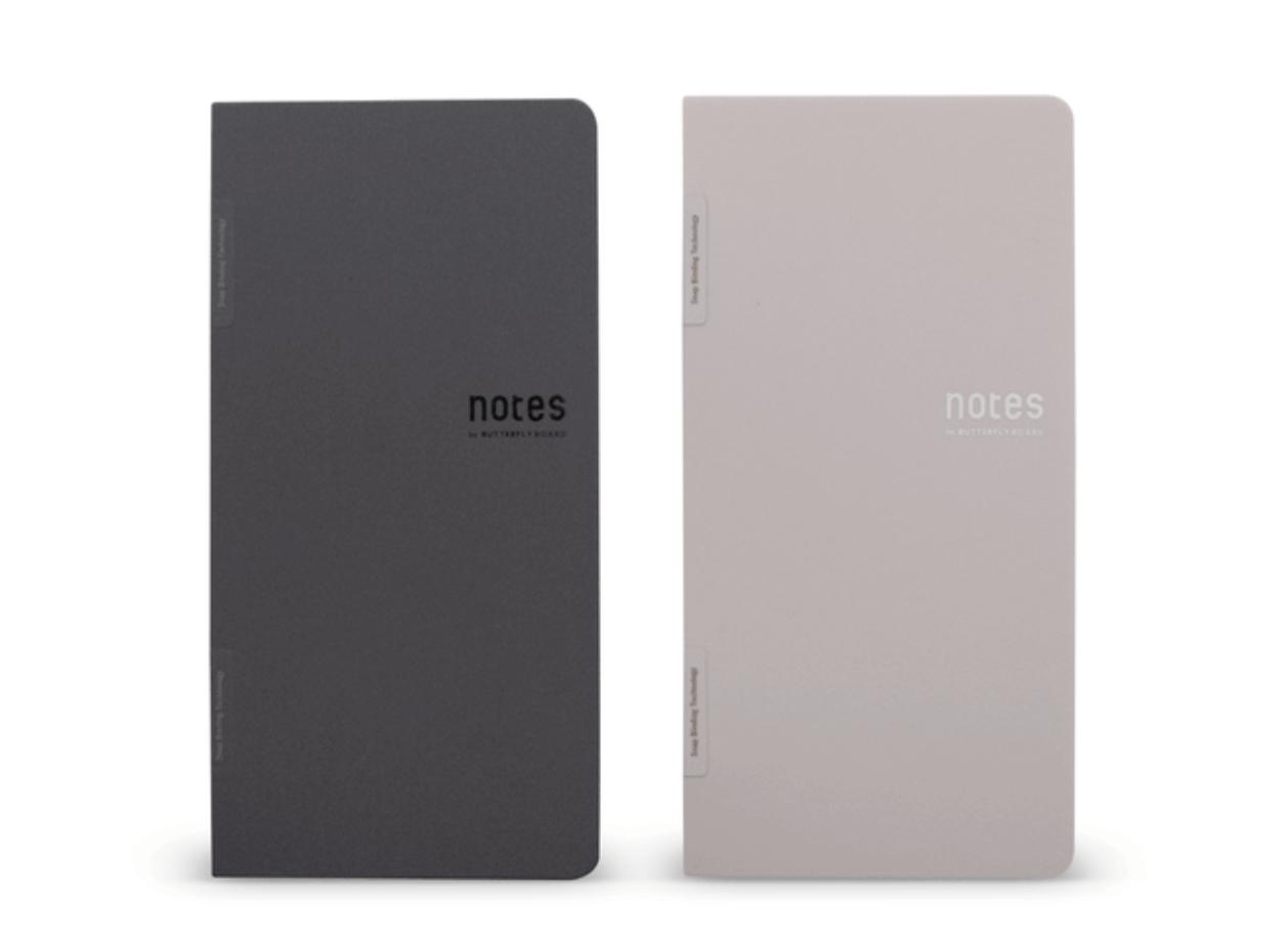 半永久的に使えて紙のような書き心地を実現したマグネット式次世代ノート「notes」