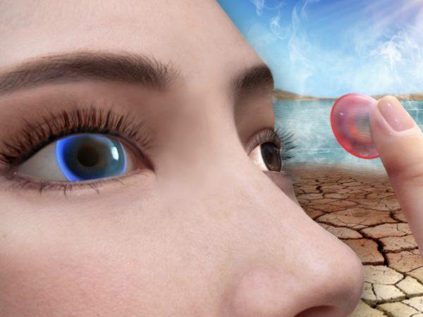 ドライアイや高眼圧を検知するスマートコンタクトレンズ、中国研究機関が開発