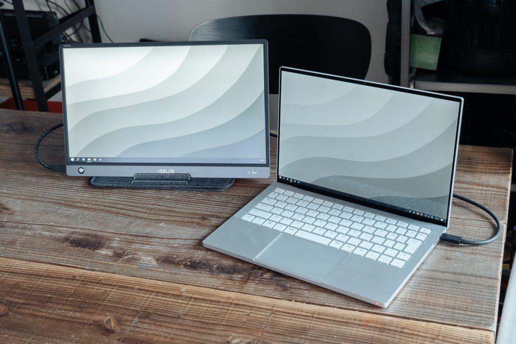 ASUS ZenScreen MB16AH review techable