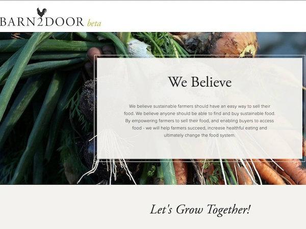 農家と消費者をつなぐマーケットプレイスBarn2Door