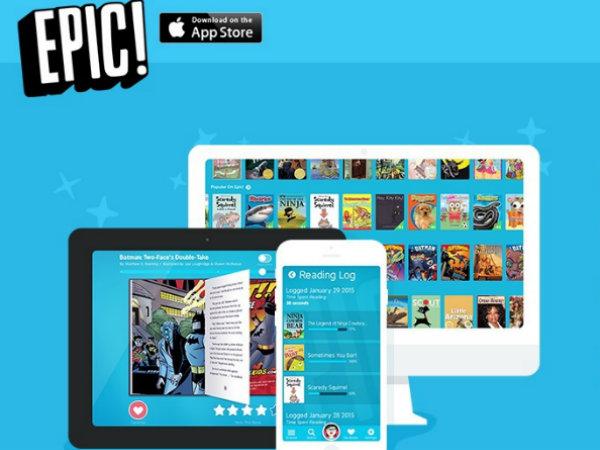 児童書に特化した電子書籍購読サービス「Epic!」