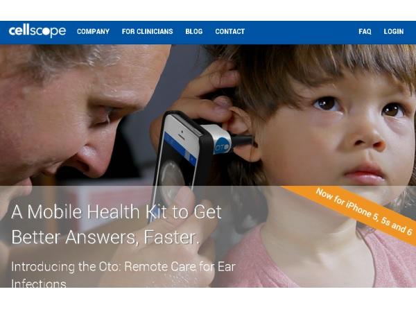 自宅にいながら医師が24時間診断!耳の病気に役立つスマホのカメラアクセ