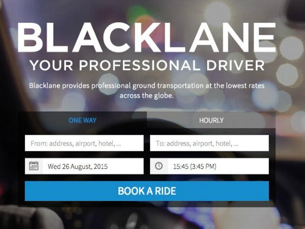 ハイヤー予約サービス「Blacklane」