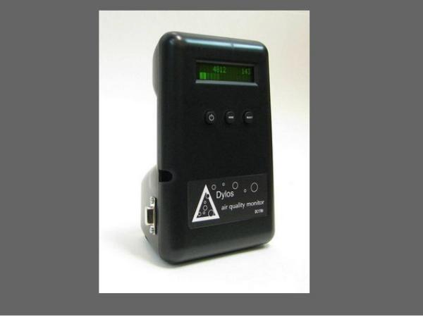 INHALEで利用されている大気測定器「DC1700」