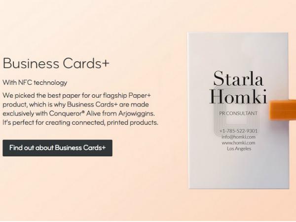 MOOの新名刺サービス「Business Card+」