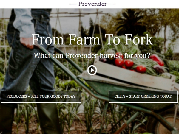 農家と飲食店を直接つなぐマーケットプレイス「Provendor」