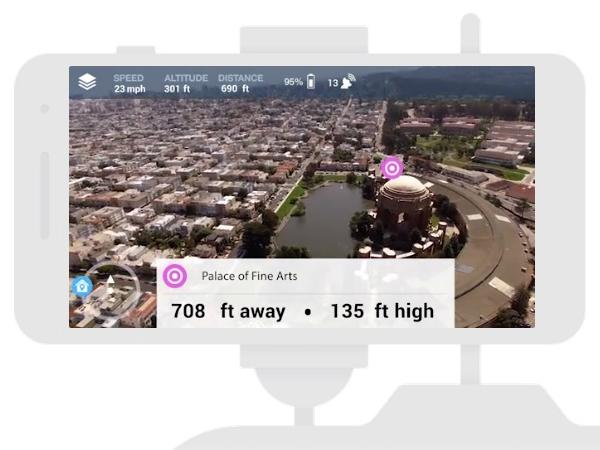 Hivemapperのスクリーン画面サンプル