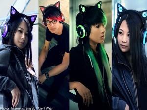 Axent Wear Cat Ear Headphones3
