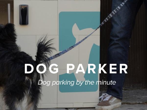 路上パーキング型の犬預かりサービス「Dog Parker」