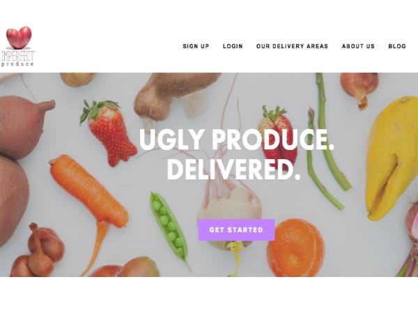 規格外青果物の定期購入サービス「Imperfect Produce」