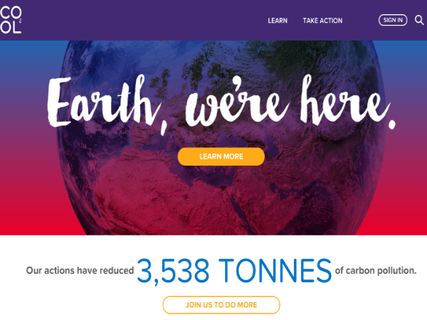 地球温暖化防止に特化したクラウドファンディングプラットフォーム「Cool Effect」