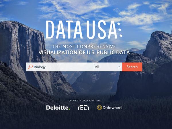 米国のオープンデータをビジュアル化する「Data USA」
