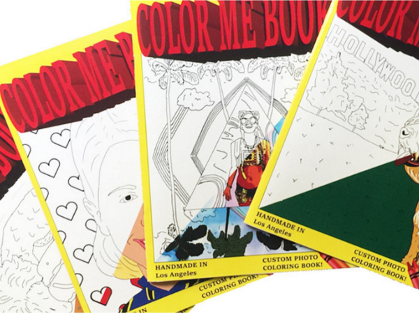「Color Me Book」の塗り絵本