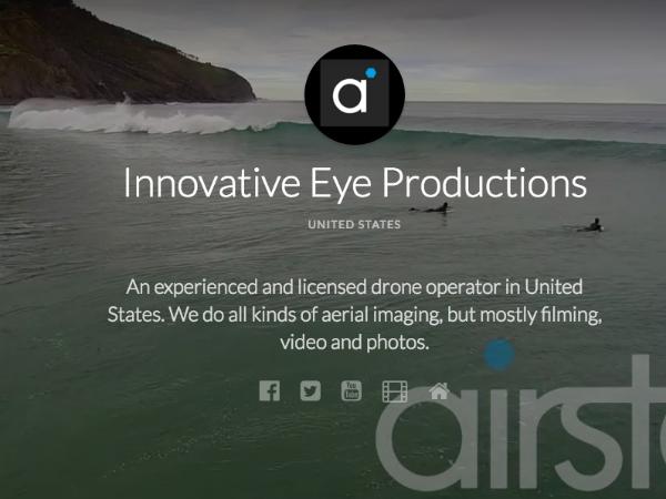 Airstocに登録している米国のオペレーター「Innovative Eye Production」