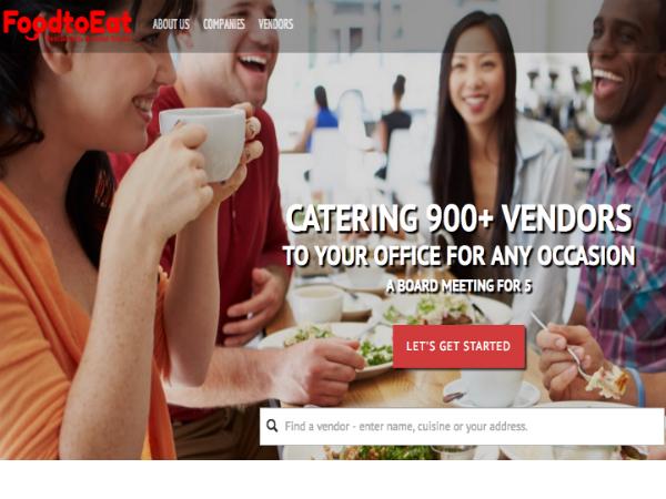 ニューヨークの企業とフードトラックをつなぐオンデマンドデリバリー「FoodtoEat」