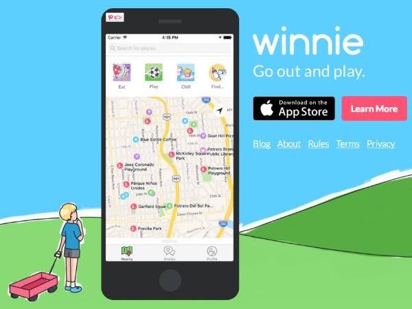 子連れの親のためのソーシャルネットワーク「Winnie」