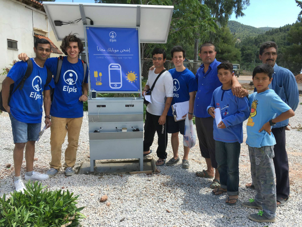 ギリシャにソーラー充電スタンドの設置をすすめる「Elpis」