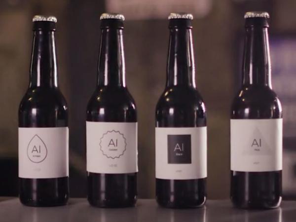 世界初の人工知能によるビールブランド「IntelligentX」