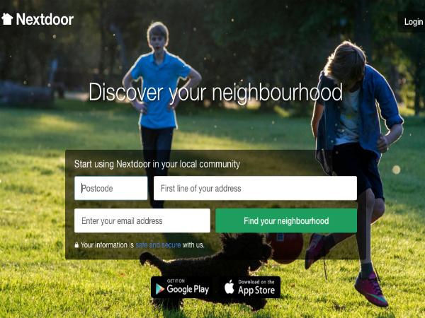 超ローカルなソーシャルメディア「Nextdoor」