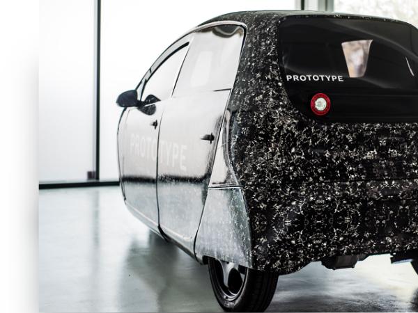「Spiri」専用電気自動車