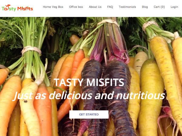 規格外青果物の定期購入サービス「Tasty Misfits」
