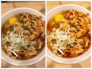 hosei Cameraで撮ったお蕎麦の比較写真