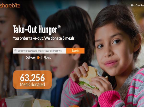 1オーダーにつき子ども1食分を寄付するフードデリバリーサービス「ShareBite」