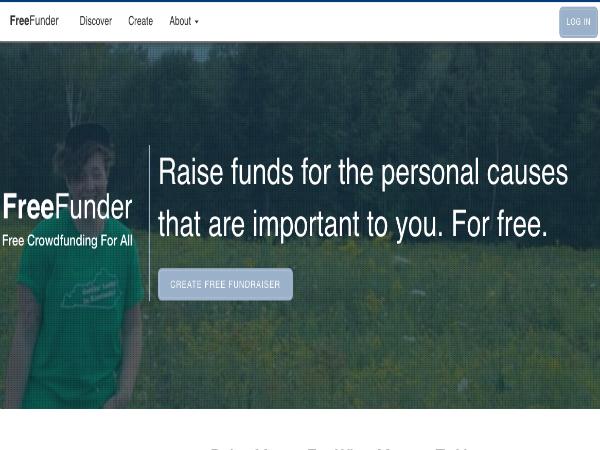 手数料ゼロのクラウドファンディングプラットフォーム「FreeFunder」
