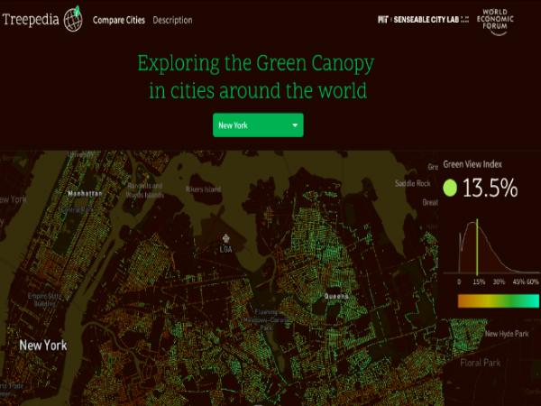 MITが開発した「Treepedia」