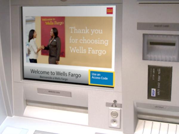 カードレスなATMサービスを開始したWells Fargo