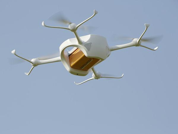 瑞士邮政无人机飞行测试