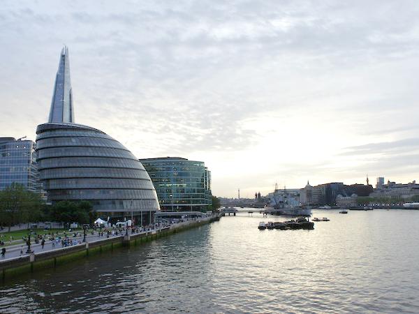 シティ・オブ・ロンドンの風景